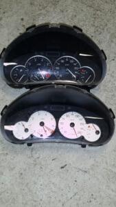cockpit dashboard Peugeot 206