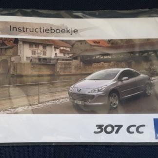 Origineel instructieboekje Peugeot 307 cc restyling