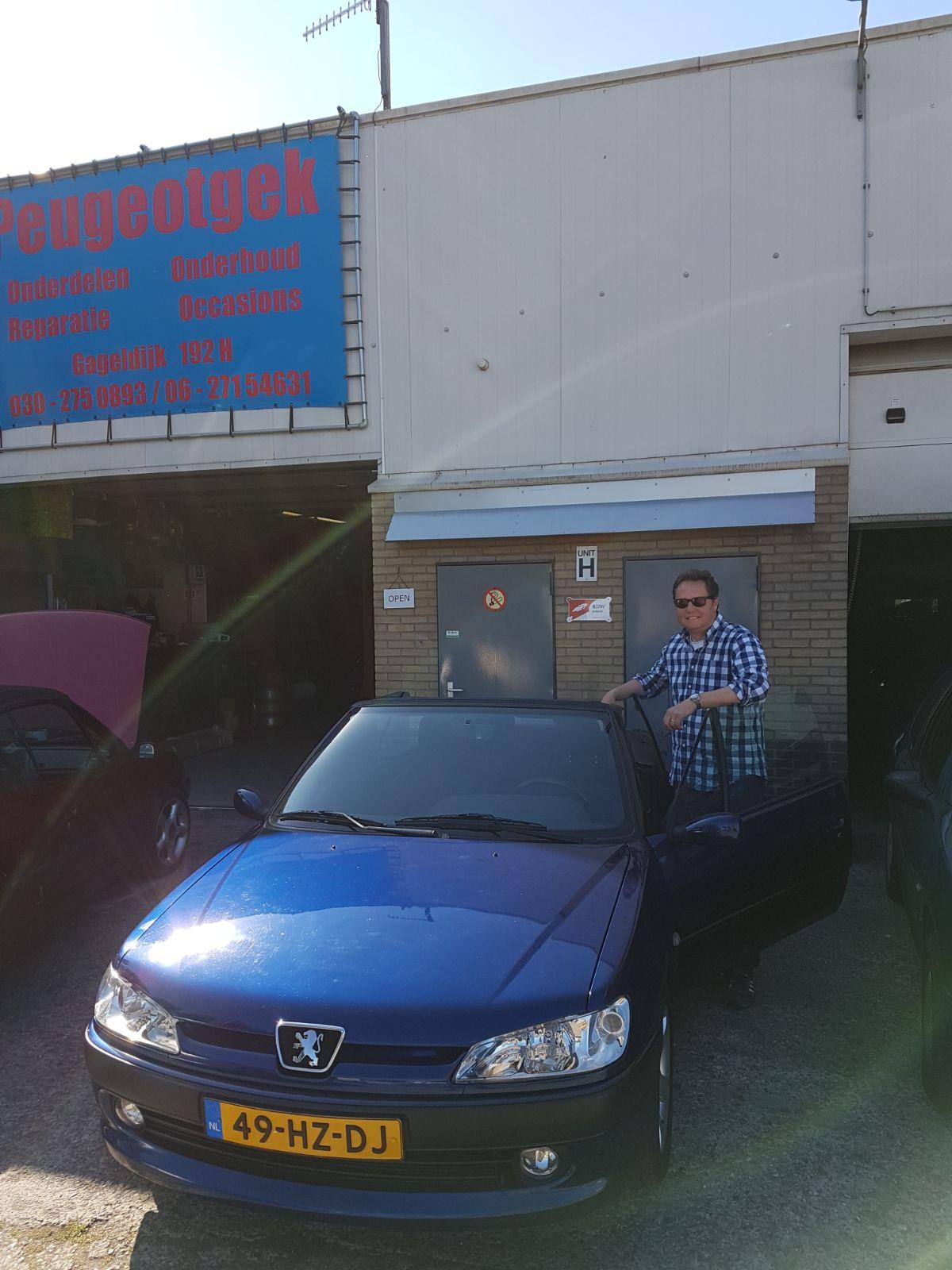 Peugeot 306 cabriolet verkocht