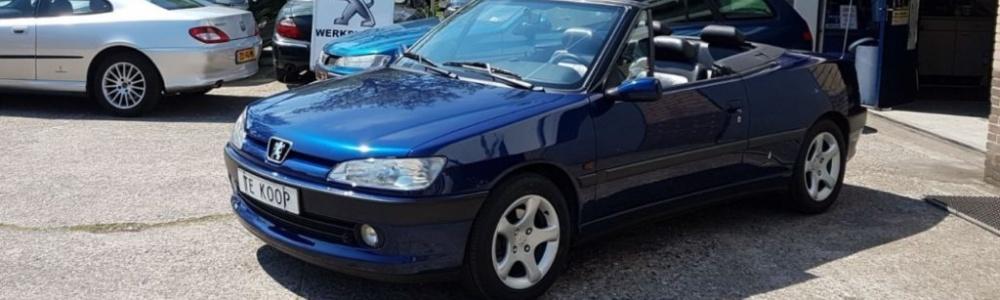 Vandaag afgeleverd - Peugeot 306 Cabriolet