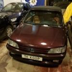 Peugeot 306 cabrio 1.8 8V voorkant