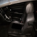 Te koop: Zwart lederen interieur peugeot 307 cc